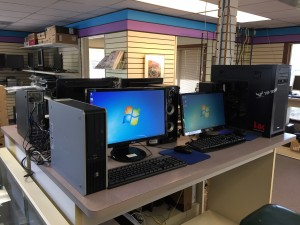 Systems, speakers, monitors, and more located here!