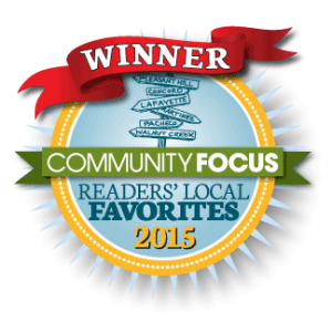 2015 Community Focus Readers Local Favorite