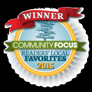 2015 Community Focus Readers Local Favorite