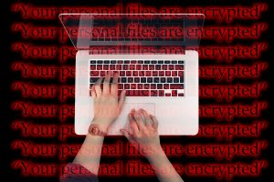Ransomware infects laptop